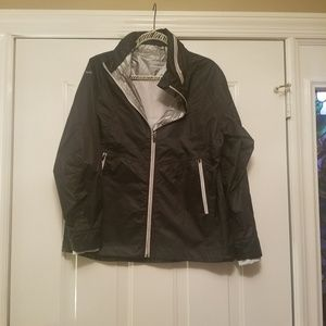Avalanche Jacket Large Black stowable hood